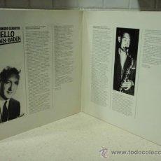 Discos de vinilo: 'HELLO BADEN BADEN' SESSIONS 1955-1960 DOBLE LP33 VARIOS: DON BYAS, STAN GETZ, LEE KONITZ.... Lote 27386020