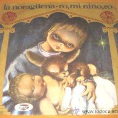 Discos de vinilo: ESCOLANIA DEL COLEGIO DE SAN ANTONIO DE MADRID - LA NORAGÜENA - SINGLE - VINILO ROJO. Lote 27387181