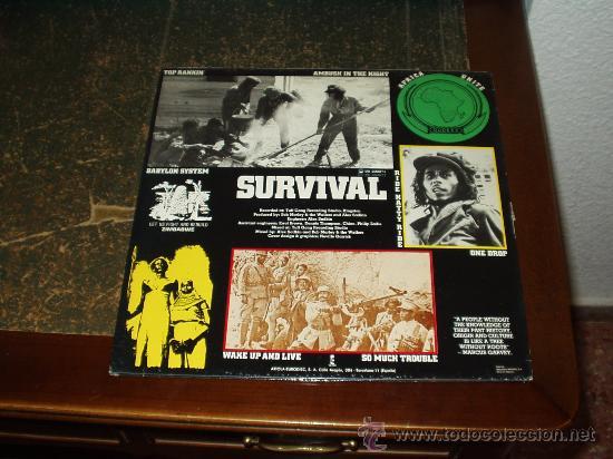Discos de vinilo: BOB MARLEY & THE WAILERS LP SURVIVAL - Foto 2 - 39933550