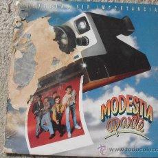 Discos de vinilo: MODESTIA APARTE, HISTORIAS SIN IMPORTANCIA, (LP), MERCURY 1991. Lote 27402309