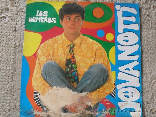 JOVANOTTI, LOS NUMEROS, MAXI SINGLE 45 RPM (Música - Discos de Vinilo - Maxi Singles - Canción Francesa e Italiana)