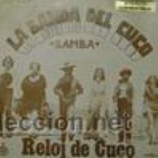 Discos de vinilo: LA BANDA DEL CUCO RELOJ DE CUCO+SAMBA. Lote 27426190