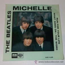 DISCO SINGLE THE BEATLES-MICHELLE