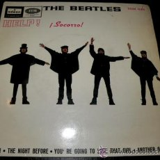 Discos de vinilo: THE BEATLES - HELP SOCORRO - EMI ODEON - 1965. Lote 27447816