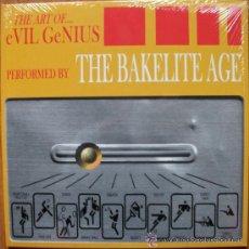 Discos de vinilo: THE ART OF... EVIL GENIOUS * DELUXE LP *THE BAKELITE AGE* GATEFOLD *PRECINTADO * NUMERADO 500 COPIAS. Lote 27451343