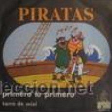 Discos de vinilo: PIRATAS PRIMERO LO PRIMERO+TARRO DE MIEL . Lote 27471903