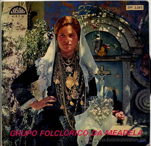 GRUPO FOLCLORICO DA MEADELA / VIRA DA MEADELA / CHULA DA MEADELA / DESAFIO + 1 (EP PORTUGUES) (Música - Discos de Vinilo - EPs - Country y Folk)