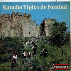 Discos de vinilo: RANCHO TIPICO DE POMBAL / RUSGA / MARGARIDA MOLEIRA / TICO TICO + 3 (EP PORTUGUES). Lote 27474478