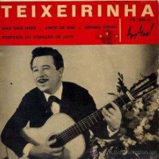 Discos de vinilo: TEIXERINHA / DIAS DIAS MAES / AMOR DE MAE / ,MENINO ORFAO + 1 (EP FRANCES). Lote 27474540