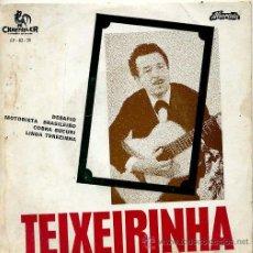 Discos de vinilo: TEIXEIRINHA / DESAFIO / MOTORISTA BRASILEIRO / COBRA SUCURI + 1 (EP PORTUGUES). Lote 27474588