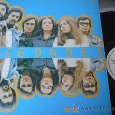 Discos de vinilo: MOCEDADES -LP- ERES TU -. Lote 27480524