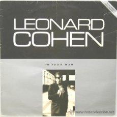 Discos de vinilo: LEONARD COHEN I´M YOUR MAN LP CBS 1988. Lote 27484566