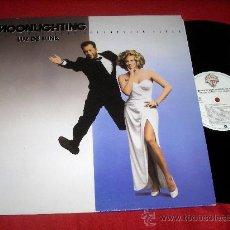 Discos de vinilo: LUZ DE LUNA BSO LP 1988 WB RECORDS MOONLIGHTING BRUCE WILLIS TV SERIE BSO OST. Lote 27488063