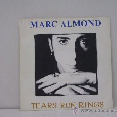 Discos de vinilo: MARC ALMOND - TEARS RUN RINGS / EVERYTHING I WANTED LOVE TO BE - EDICION ESPAÑOLA - HISPAVOX 1988. Lote 160167090