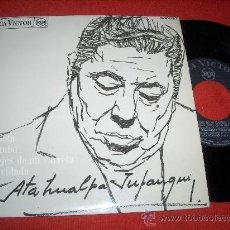 """Discos de vinilo: ATAHUALPA YUPANQUI EL POETA/MALAMBO/LOS EJES DE MI CARRETA/LA OLVIDADA 7"""" EP 1968 RCA. Lote 27507737"""