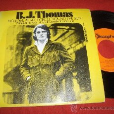 """Dischi in vinile: B.J. THOMAS NO LOVE AT ALL/CIRCLE `ROUND THE SUN 7"""" SINGLE 1971 DISCOPHON. Lote 27508042"""
