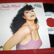 """Discos de vinilo: AMANDA MIGUEL EL ME MINTIO/AMANDA AL PIANO 7"""" SINGLE 1982 RCA PROMO. Lote 27512286"""