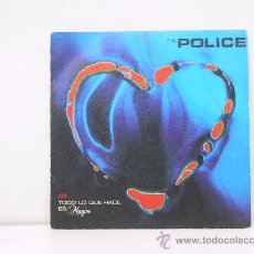 Discos de vinil: THE POLICE - TODO LO QUE HACE ES MAGICO / SHAMBELLE - EDICION ESPAÑOLA - AM RECORDS 1981. Lote 27518806
