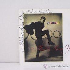 Discos de vinil: STING - MAD ABOUT YOU / TEMPTED - ORIGINAL U.K. - AM RECORDS 1991. Lote 27519175