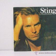 Discos de vinil: STING - FRAGILIDAD / FRAGIL ( EN PORTUGUES ) - PROMO EDICION ESPAÑOLA - AM RECORDS 1988. Lote 44671750