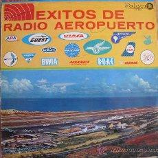 Discos de vinilo: LP - EXITOS DE RADIO AEROPUERTO - VARIOS - ORIGINAL DE VENEZUELA, DISCOS PALACIO SIN FECHA. Lote 27519660