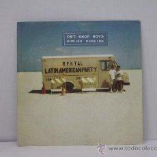 Discos de vinil: PET SHOP BOYS - DOMINO DANCING / DON JUAN - EDICION ESPAÑOLA - EMI 1988. Lote 27520080