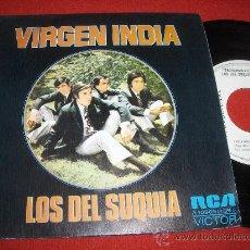 """Discos de vinilo: LOS DEL SUQUIA VIRGEN INDIA/ADIOS A UNA MUCHACHA 7"""" SINGLE 1973 RCA PROMO. Lote 27533128"""