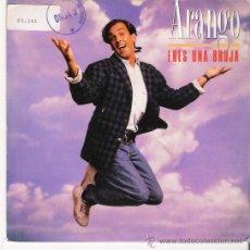 Disques de vinyle: ARANGO - ERES UNA BRUJA - SINGLE 1988 - PROMO UNA CARA. Lote 219076207