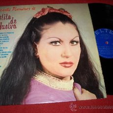 Discos de vinilo: PERLITA DE HUELVA EL CANTE FLAMENCO DE...LP 1976 BELTER. Lote 27528767
