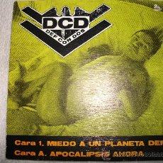 Discos de vinilo: DCD DEF CON DOS -MIEDO A UN PLANETA DEF / APOCALIPSIS AHORA // 1991 DRO. Lote 27532278