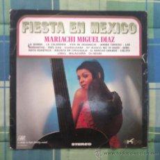 Discos de vinilo: LP - DISCO DE VINILO. FIESTA EN MEXICO.. Lote 27535974