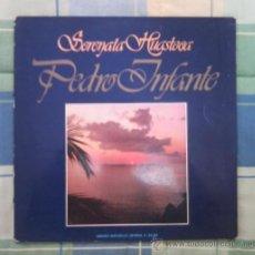 Discos de vinilo: LP - DISCO DE VINILO. SERENATA HUASTECA. PEDRO INFANTE.. Lote 27536143