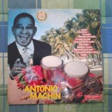 Discos de vinilo: LP - DISCO DE VINILO. ANTONIO MACHIN.. Lote 27537051