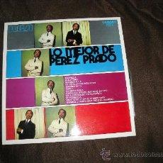 Discos de vinilo: LO MEJOR DE PEREZ PRADO LP RCA 1971 SPA. Lote 27540147