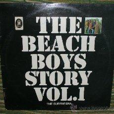Discos de vinilo: THE BEACH BOYS LP- THE BEACH BOYS STORY VOL.1-ORIGINAL ALEMAN CAPITOL 1969 - STEREO -. Lote 27681902