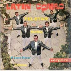 Discos de vinilo: LATIN COMBO - TELSTAR + 3 (EP DE 4 CANCIONES) VERGARA 1962 - VG++/VG++. Lote 27599539