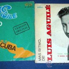 Discos de vinilo: LUIS AGUILÉ, CUANDO SALÍ DE CUBA, CIUDAD SOLITARIA... AÑOS 1964 Y 1967. Lote 27603699
