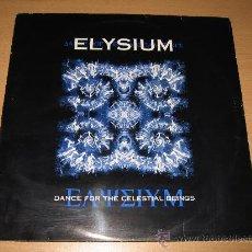 Discos de vinilo: LP DOBLE ELYSIUM DANCE FOR THE CELESTIAL BEINGS WARNER-CHAPELL 1995 GOA RARO Y JOYA. Lote 27605836