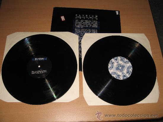 Discos de vinilo: LP Doble ELYSIUM DANCE FOR THE CELESTIAL BEINGS WARNER-CHAPELL 1995 GOA RARO Y JOYA - Foto 3 - 27605836