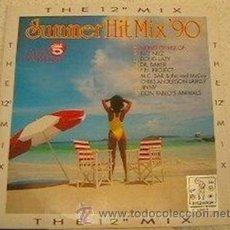 Discos de vinilo: VARIOS - SUMMER HIT MIX '90 (THE 12 MIX) - MAXI-SINGLE ZYX RECORDS - ZYX 6360-12 - ALEMANIA 1990. Lote 27624936