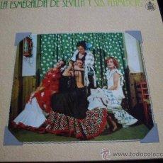 Discos de vinilo: LA ESMERALDA Y SUS FLAMENCAS-HISPAVOX 1978-PORTADA ABIERTA. Lote 27628032