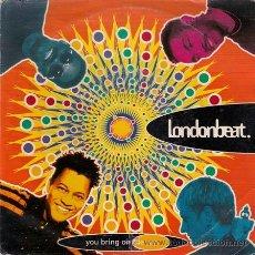 Discos de vinilo: LONDONBEAT – YOU BRING ON THE SUN - SINGLE ANXIOUS RECORDS - 1A ZB 45445 - ESPAÑA 1992. Lote 27642727
