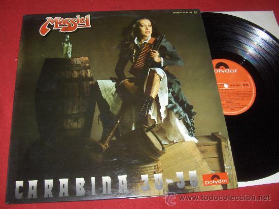 MASSIEL CARABINA 30-30 LP 1976 POLYDOR (Música - Discos - LP Vinilo - Solistas Españoles de los 50 y 60)