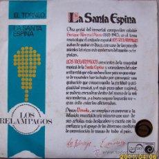 Discos de vinilo: LOS RELAMPAGOS - 1967. Lote 27646592