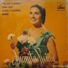 Discos de vinilo: JUANITA REINA 1961. Lote 27647203