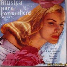 Discos de vinilo: HARRY ARNOLD MÚSICA PARA ROMANTICOS II. Lote 27647395