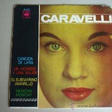 Discos de vinilo: CARAVELLI Y SUS VIOLINES MAGICOS---4 CANCIONES CBS 1966. Lote 29459480