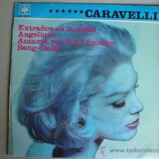 Discos de vinilo: CARAVELLI Y SUS VIOLINES MAGICOS---4 CANCIONES CBS 1966. Lote 29459496