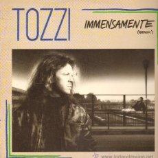 Discos de vinilo: UMBERTO TOZZI - IMMENSAMENTE (3 VERSIONES) - MAXISINGLE 1988. Lote 27653622
