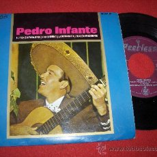 "Discos de vinilo: PEDRO INFANTE EL TREN SIN PASAJEROS 7"" EP 1965 PEERLESS. Lote 27656583"